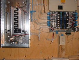 10 Installing Sub Feed into Sub Panel_small how to install a subpanel siemens sub panel wiring diagram at reclaimingppi.co