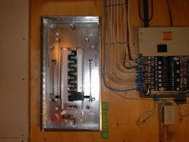 How to Install a Subpanel Mounting Electrical Panel on side electrical panel, power electrical panel, brick electrical panel,