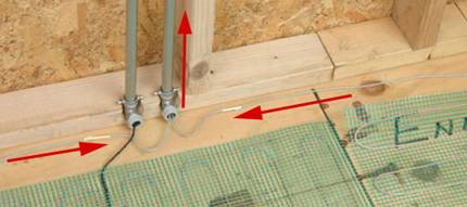 wiring an electric floor heating system electrical online Dual Fuel Heat Wiring