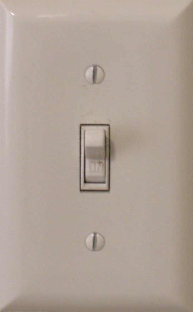 Wiring a light switch electrical online basic light switch aloadofball Choice Image