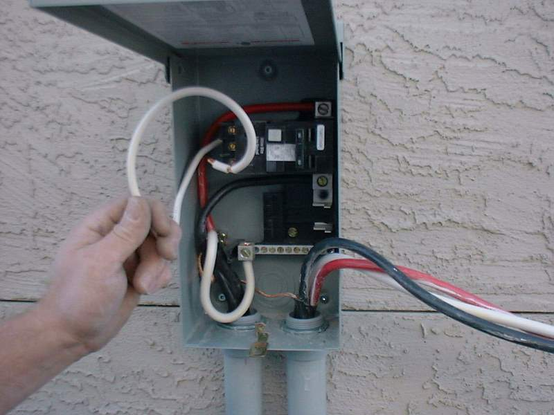Diagram Hot Tub Wiring Information