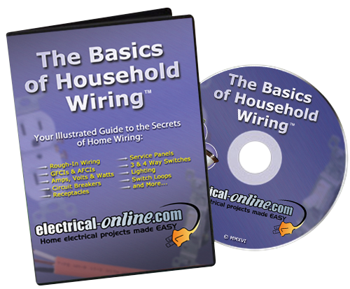 the basics of household wiring dvd  electrical online, house wiring
