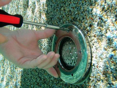 How to Replace a Pool Light
