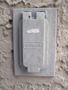Outdoor Receptacle and Cover Plate