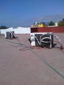 Electrical rat's nest