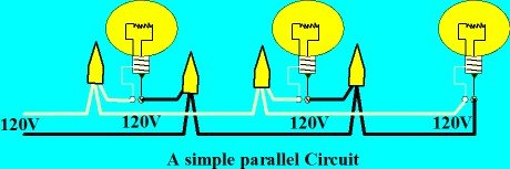 One ex&le of wiring lights in series ...  sc 1 st  Electrical Online : wiring lights in series - yogabreezes.com