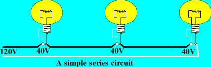 Simple series circuit wiring lights in series electrical online