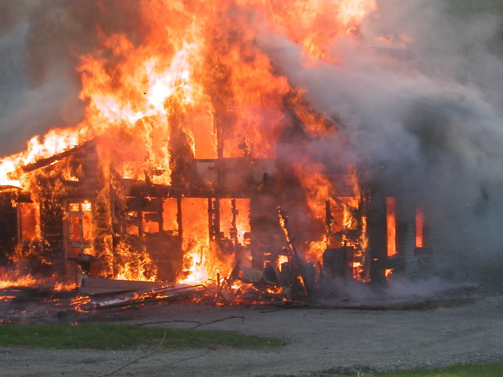 essay a house on fire