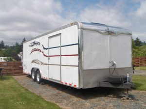 Trailer in RV Park