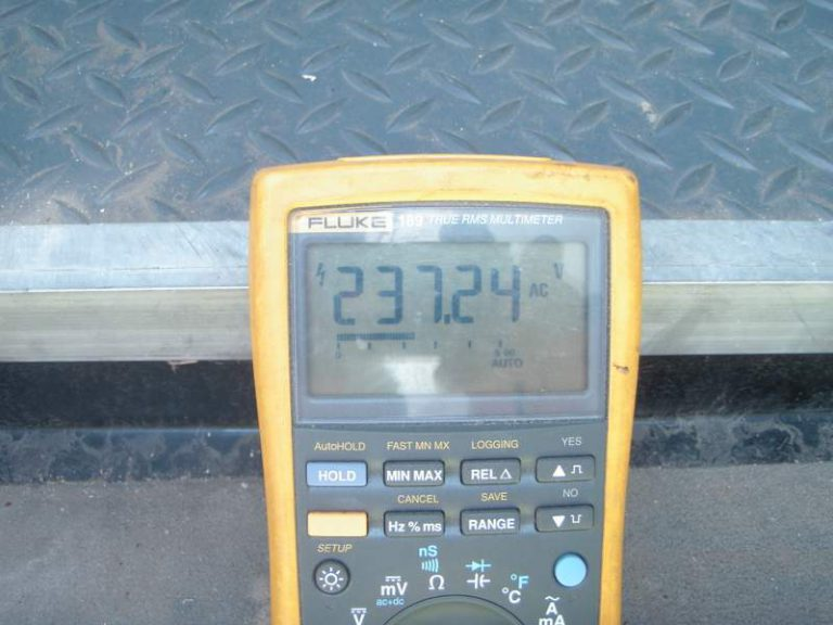Meter Reading 200+ Volts