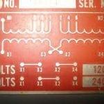 motor nameplate data 120 240