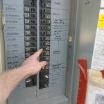 shutting off breaker