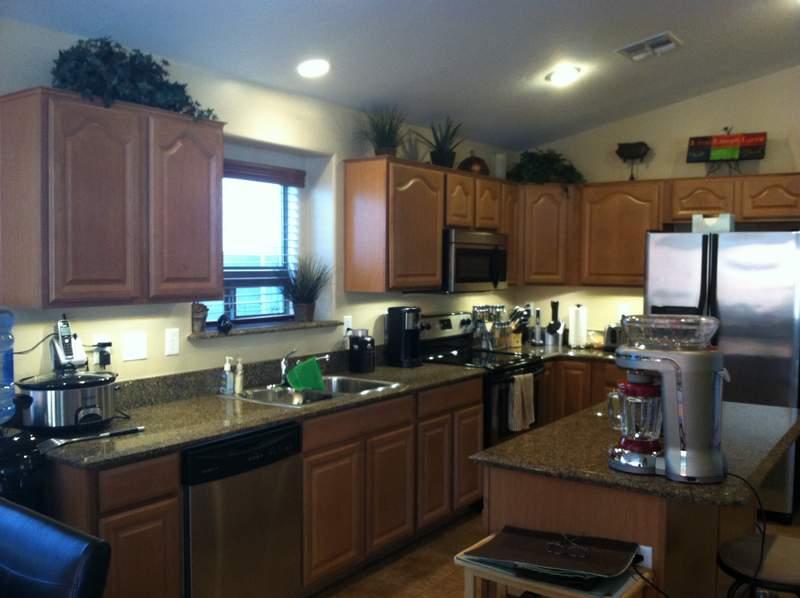 Brighter Kitchen with Under Cabinet Lighting Installed