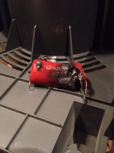 Picture of the the capacitor