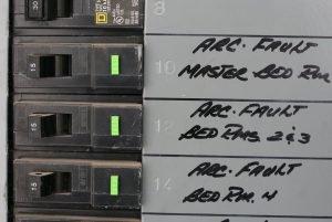 Arc Fault Circuit Interrupter Breaker