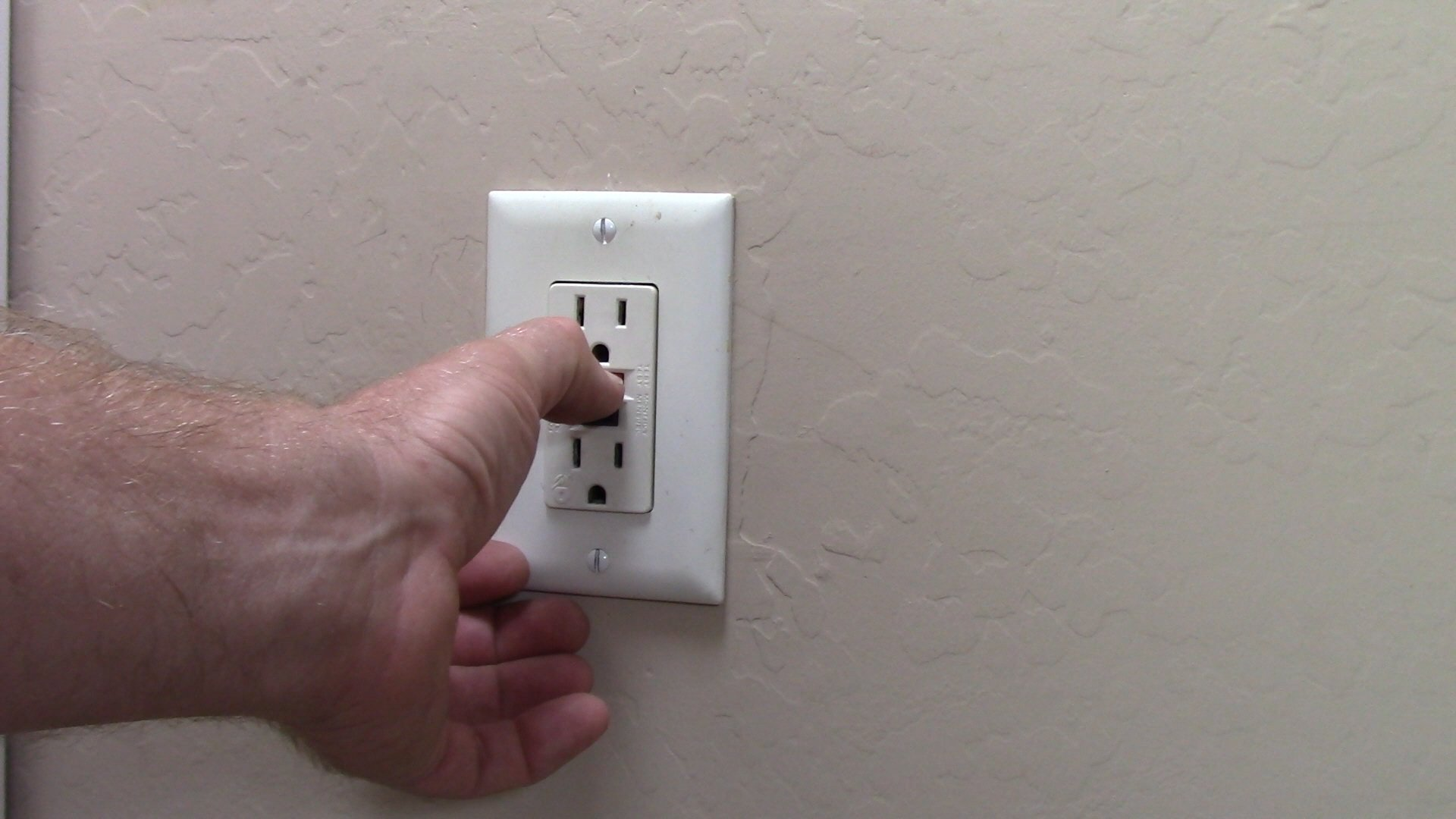 How To Replace A Faulty Gfci Receptacle Electrical Online Wiring Pushing The Test Button Did Nothing Nor Reset